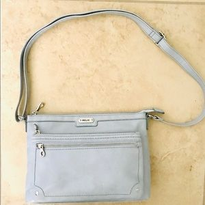 Relic blue convertible crossbody bag